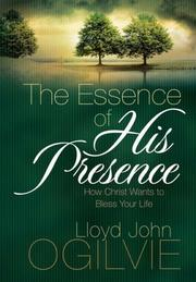 Cover of: The Essence of His Presence