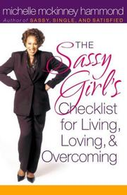 Cover of: The Sassy Girl's Checklist for Living, Loving, and Overcoming