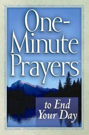 One-Minute Prayers to End Your Day (One-Minute Prayers)