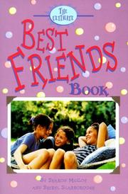Cover of: The ultimate best friends book