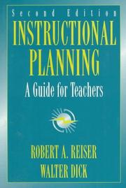 Cover of: Instructional planning