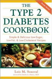 Cover of: The Type 2 Diabetes Cookbook  | Lois Soneral