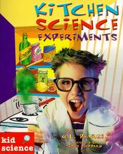 Cover of: Kitchen science experiments