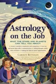 Cover of: Astrology on the job