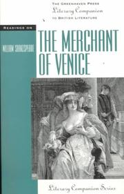 Cover of: Literary Companion Series - The Merchant of Venice