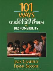 Cover of: 101 Ways to Develop Student Self-Esteem and Responsibility