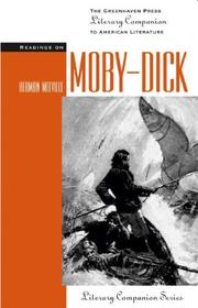 Cover of: Literary Companion Series - Moby Dick (hardcover edition) (Literary Companion Series) |