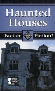 Cover of: Fact or Fiction? - Haunted Houses