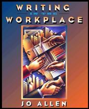 Cover of: Writing in the workplace