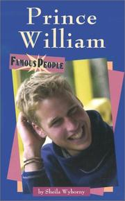 Cover of: Prince William | Sheila Wyborny