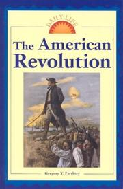 Cover of: The American Revolution | Greg Farshtey