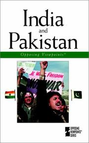 Cover of: India and Pakistan | William Dudley