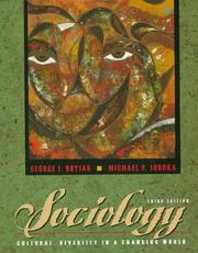 Cover of: Sociology | George J. Bryjak
