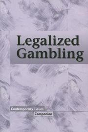 Cover of: Contemporary Issues Companion - Legalized Gambling