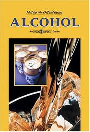 Cover of: Alcohol | William Dudley