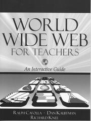 Cover of: World Wide Web for teachers
