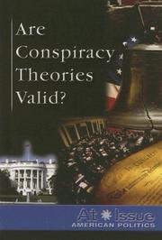 Cover of: Are Conspiracy Theories Valid?