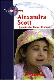 Cover of: Alexandra Scott: Champion for cancer research