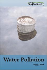 Cover of: Water Pollution (Our Environment)