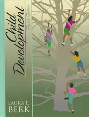 Cover of: Child development | Laura E. Berk