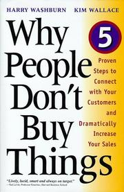 Cover of: Why people don