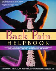 Cover of: The back pain helpbook |