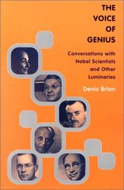 Cover of: The Voice of Genius