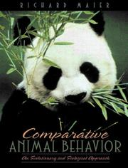 Cover of: Comparative Animal Behavior