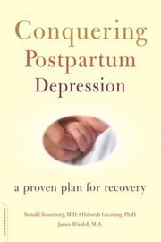 Cover of: Conquering postpartum depression | Ronald Rosenberg