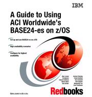 Cover of: A Guide to Using Aci Worldwide