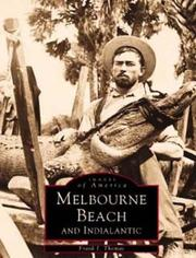 Cover of: Melbourne Beach and Indialantic  (FL) | Frank J. Thomas