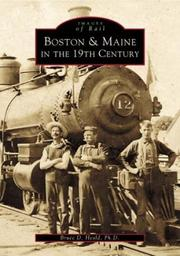 Cover of: Boston and Maine in the 19th Century (Images of  Rail: Massachusetts)