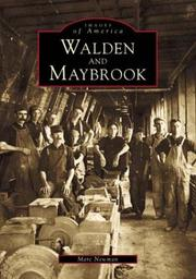 Cover of: Walden and Maybrook   (NY)