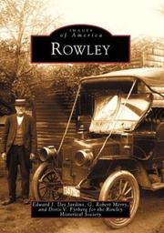 Cover of: Rowley  (MA)   (Images  of  America) | Edward J. Des Jardins