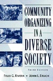 Cover of: Community organizing in a diverse society