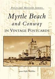 Cover of: Myrtle Beach and Conway | Susan Hoffer McMillan