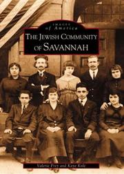 Cover of: Jewish Community of Savannah,  The  (GA)   (Images of America) | Valerie Frey