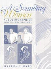 Cover of: A sounding of women |