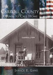 Cover of: Carroll County | Janice E. Lane