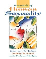 Cover of: Essentials of human sexuality