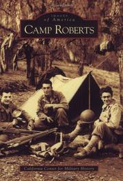 Cover of: Camp Roberts | The California Center for Military History