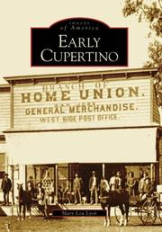 Cover of: Early Cupertino   (CA)