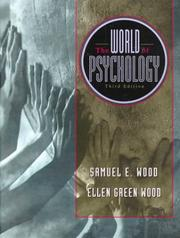 Cover of: The world of psychology