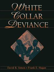 Cover of: White collar deviance | David R. Simon