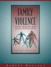 Cover of: Family Violence | Harvey Wallace