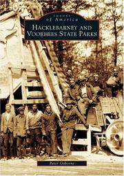 Cover of: Hacklebarney and Voorhees state parks | Osborne, Peter