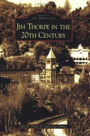 Cover of: Jim Thorpe in the 20th Century (PA)   (Images of America) | John H. Drury