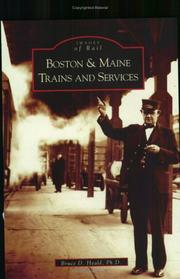 Cover of: Boston & Maine Trains and Services (Images of Rail) (Images of Rail)
