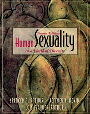 Cover of: Human sexuality in a world of diversity