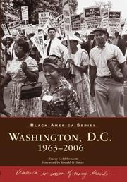 Cover of: Washington Dc | Tracey Gold Bennett